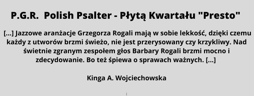 P.G.R. Polish Psalter - Płyta Kwartału Presto (2)